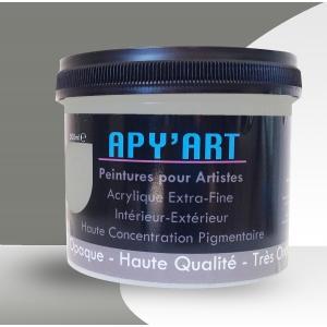 Peinture acrylique Gris poussière