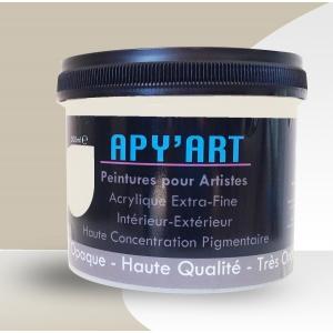 Peinture acrylique Gris soie