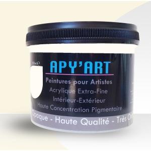 Peinture acrylique Blanc crème
