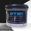 Noir graphite pot tube peinture acrylique