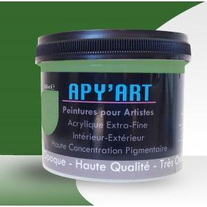 Vert herbe pot peinture apyart©