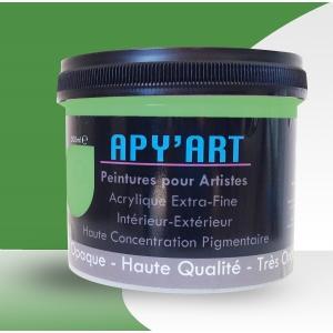 Vert mai pot peinture acrylique