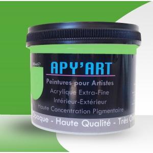 Vert Jaune  pot peinture acrylique