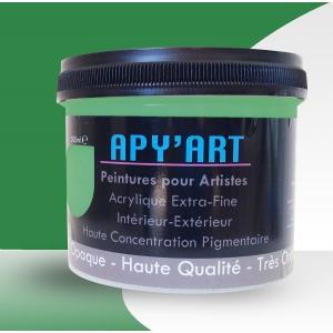 Vert signalisation pot peinture acrylique