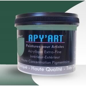 Vert pin pot peinture acrylique