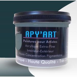 peinture acrylique vert bleu