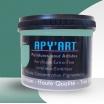 Turquoise menthe pot peinture acrylique