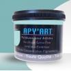 Turquoise pastel pot peinture acrylique