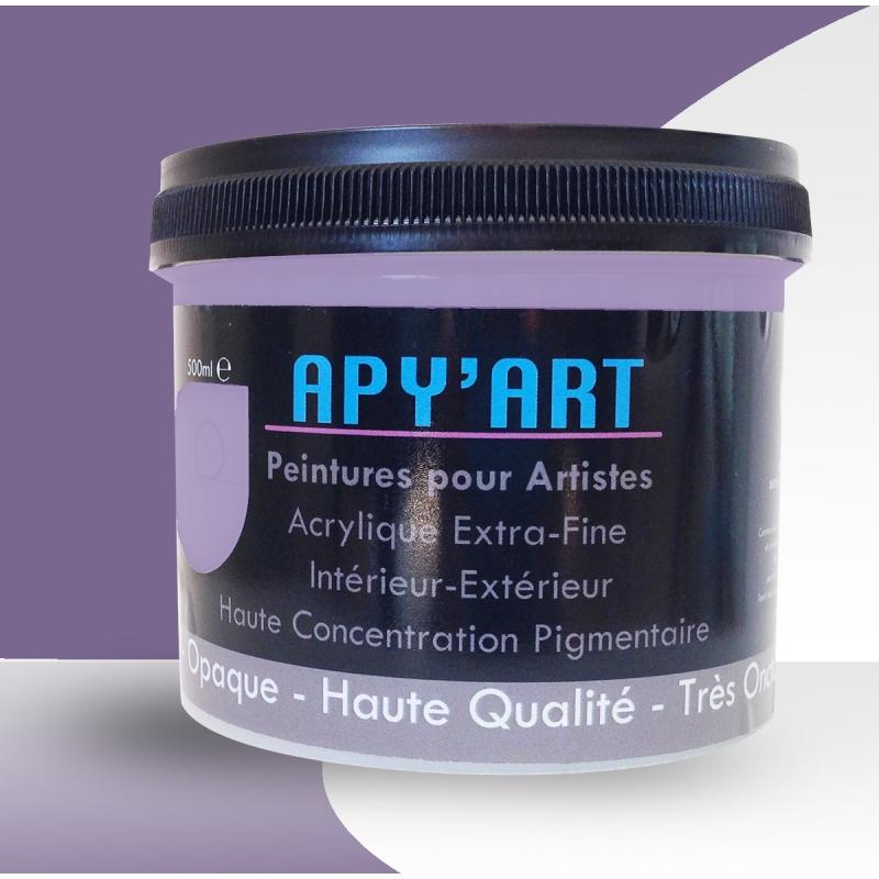 lilas bleu 500ml peinture acrylique. Black Bedroom Furniture Sets. Home Design Ideas
