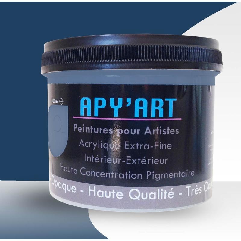 Bleu Violet 500ml Peinture Acrylique