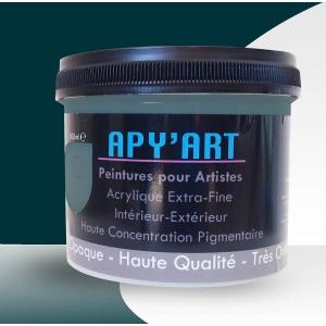 Peinture acrylique Bleu océan 500 ml
